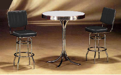 round table set black high back chairs logo cut.JPG (24432 bytes)